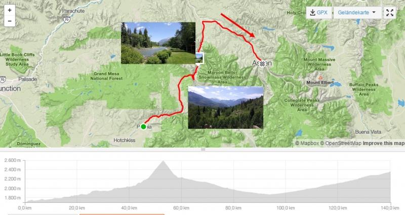 #rmt Tag 7. Paonia - Aspen