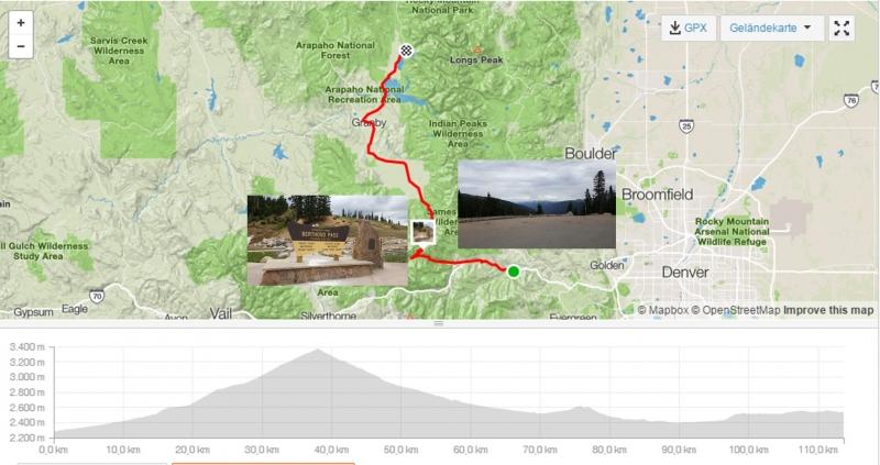 #rmt Tag 11, Idaho Springs - Grand Lake