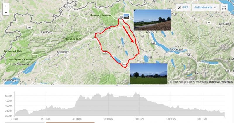 Rundfahrt vom Reusstal zum Sempachersee