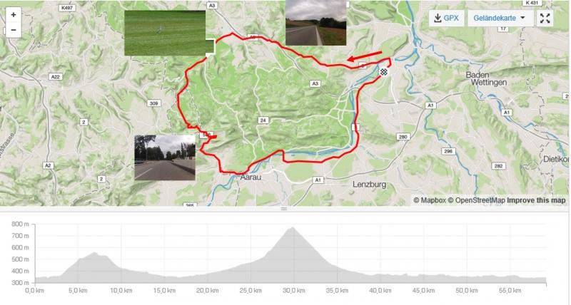 Rundfahrt über Bözberg und Saalhöhe