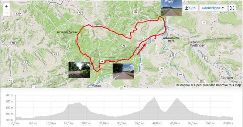 Rundfahrt über Bözberg - Benkerjoch - Staffelegg