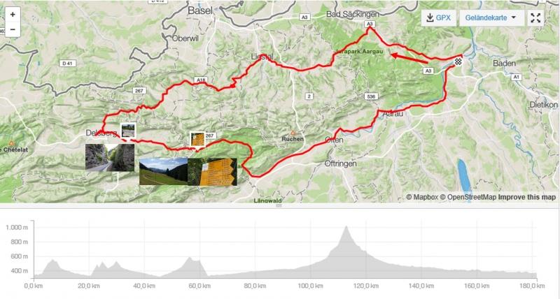 Rundfahrt durch den Jura bis zum Scheltenpass