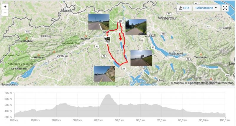 Rundfahrt Bünztal - Seetal - Suhrental - Aaretal