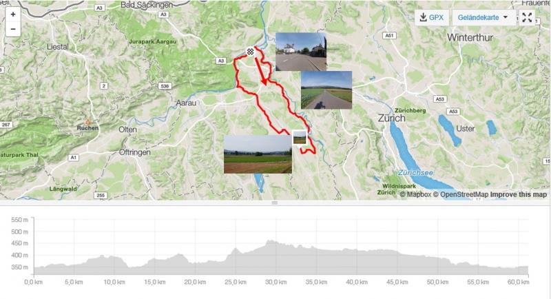 Rundfahrt im Reusstal - Bünztal - Aaretal