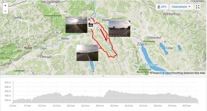Rundfahrt im Reusstal - Bünztal und über das Birrfeld