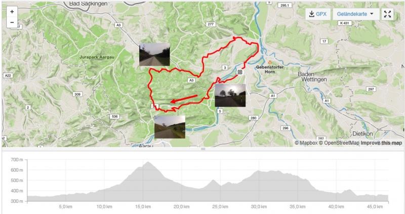 Rundfahrt über Staffelegg und Bözberg
