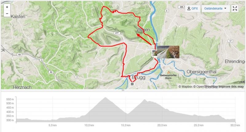 Rundfahrt über Rotberg und Bürensteig