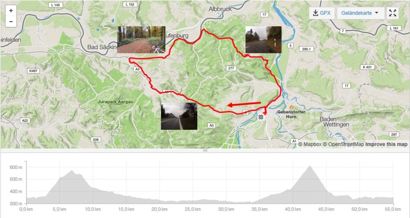 Rundfahrt über den Bözberg und den Rotberg