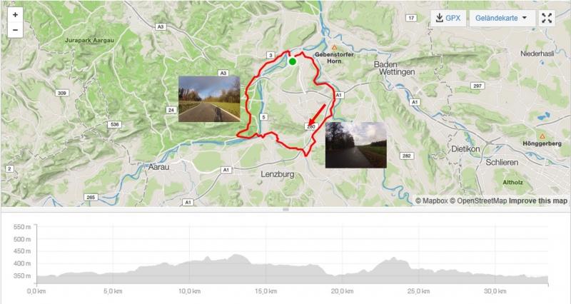 Rundfahrt Reusstal - Birrfeld - Bünztal - Aaretal