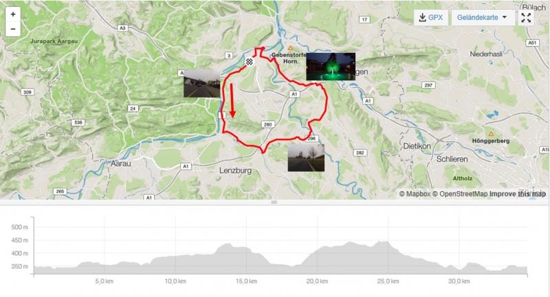 Rundfahrt vom Aaretal ins Reusstal