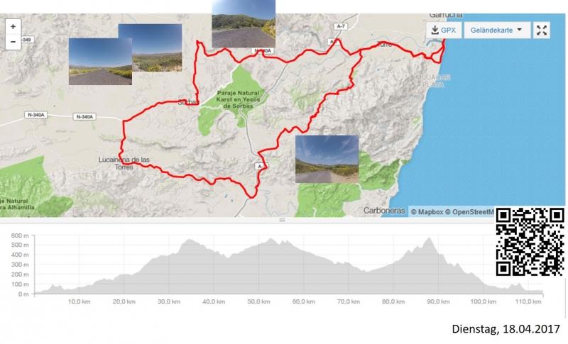 Cariatiz - Via Verde und Sierra Cabrera