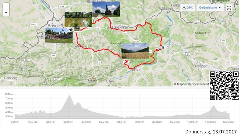 Über die Saalhöhe bis an den Rhein