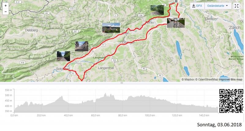 Alter Bernerweg und Aaretal