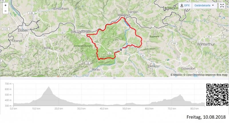 Das Viereck zwischen Aare und Rhein