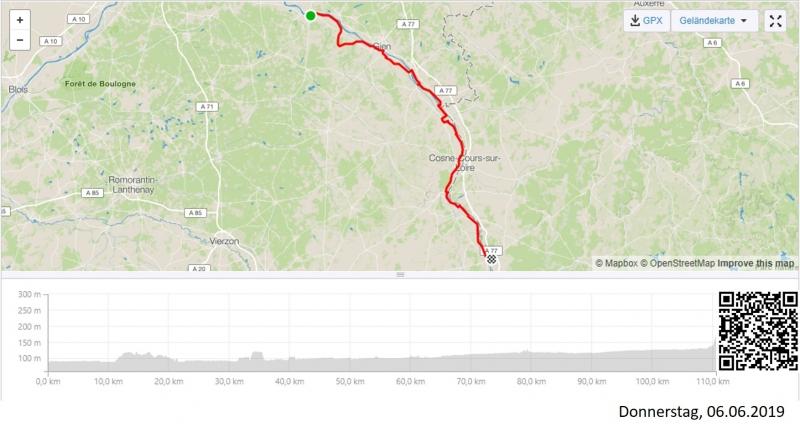 Von Sully-sur-Loire nach Charité-sur-Loire