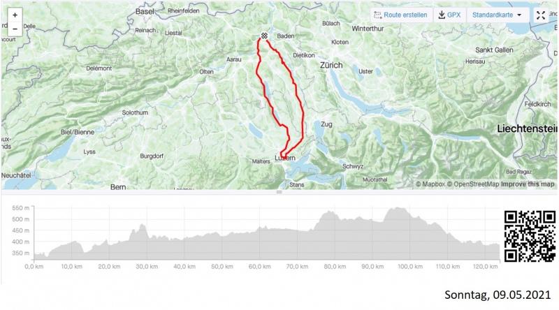 Rundfahrt nach Luzern