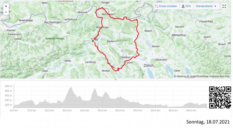 Reusstal-Limmattal-Furttal-Neeracherried-Rheintal-Aaretal