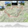 Track der Rundfahrt über den Karerpass