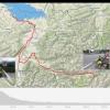 Track der Fahrt von St. Anton nach Arbon