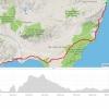 Mojacar-Almeria-Aguadulce, erster Teil des Heimweges