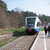 Schlusslicht der Usedomer Bäderbahn