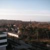 Sicht aus unserem Hotel nach Südost