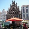 Häuserzeile in Greifswald