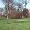 Überbleibsel der riesigen Klosteranlage Eldena