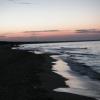 Abendstimmung an der Ostsee im April