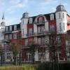 """Preussenhof, das erste Hotel in Zinnowitz, damals mit dem Namen """"Wigwam"""""""
