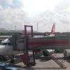 Unser Flugzeug für den Heimflug in Berlin - Tegel