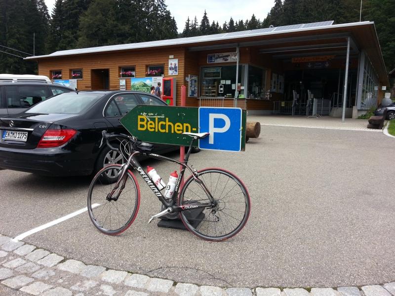 Belchenbahn, Parkplatz