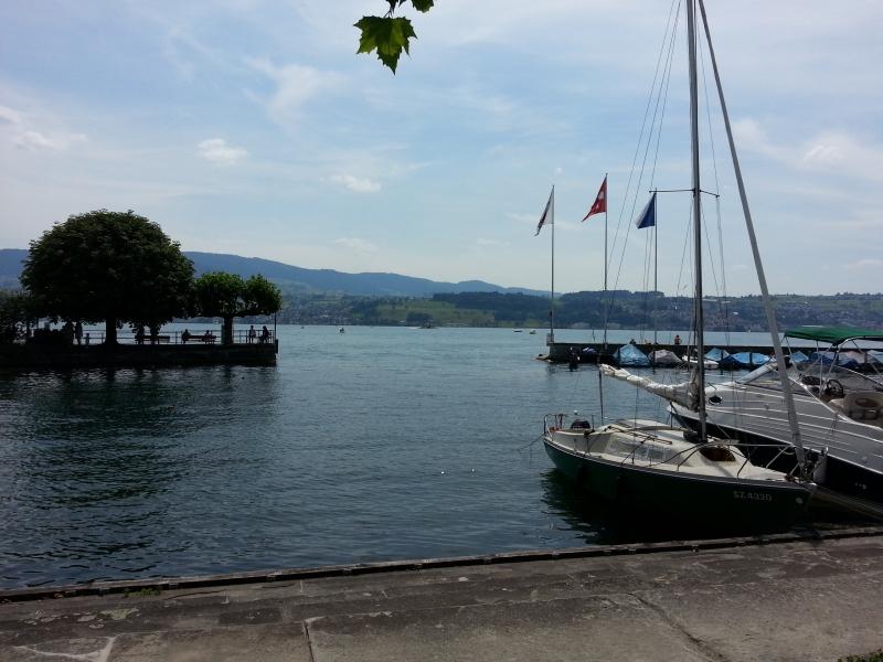 Zwischenhalt am Zürichsee