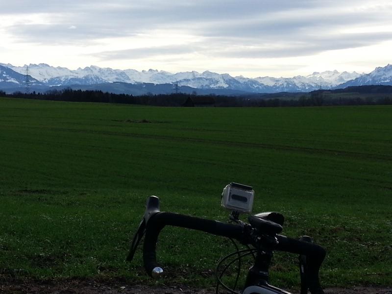 Föhnstimmung am Alpenkamm