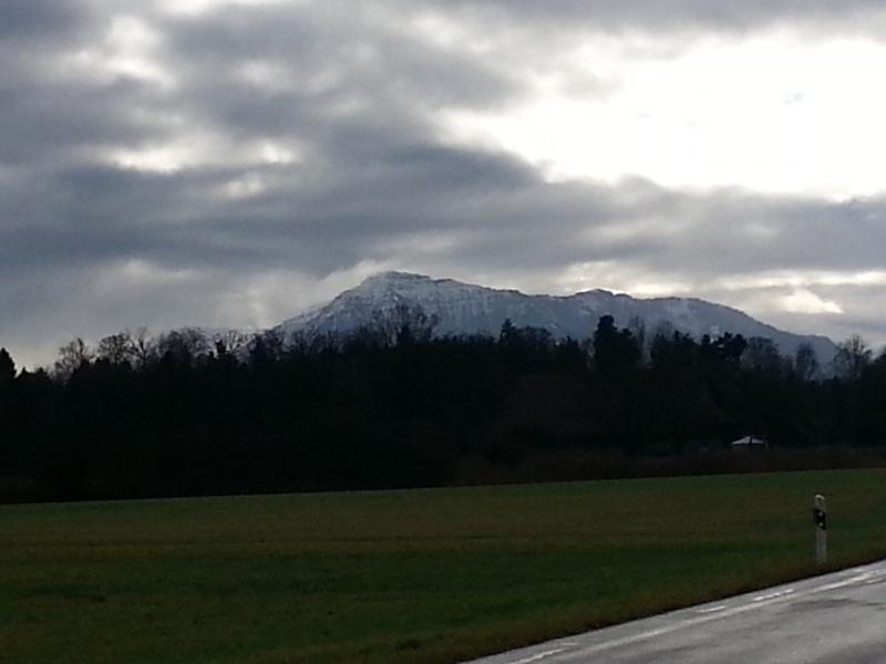 Rigi mit Schnee