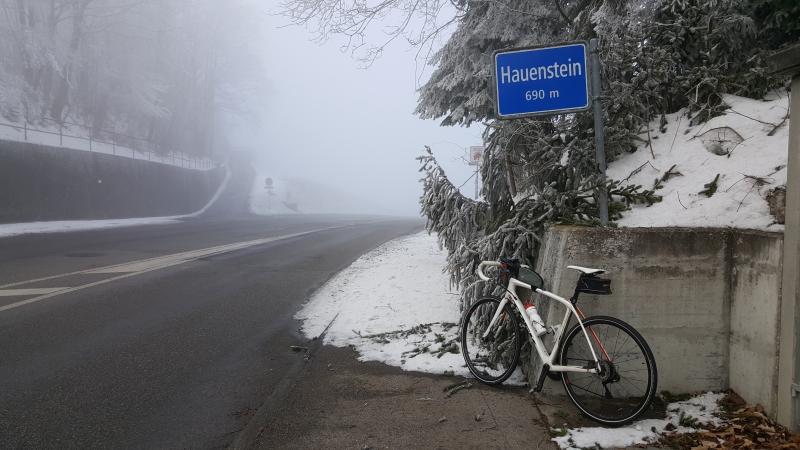Hauenstein, Passhöhe