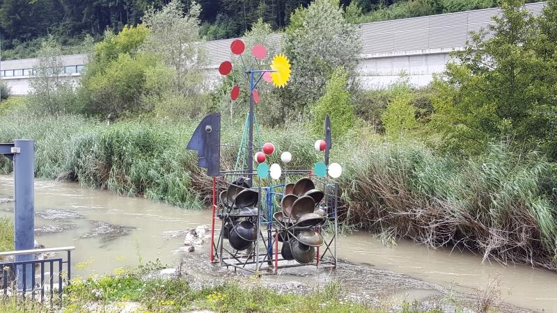 Windrad / Wasserspiel