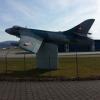 Hunter am Flugplatz Emmen