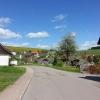 idyllisches Dorfbild