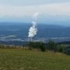 Blick zum Alpenkamm von der Schafmatt