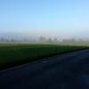 Nebelbank über Urswil