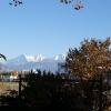 Thun, Blick zu Eiger, Mönch und Jungfrau