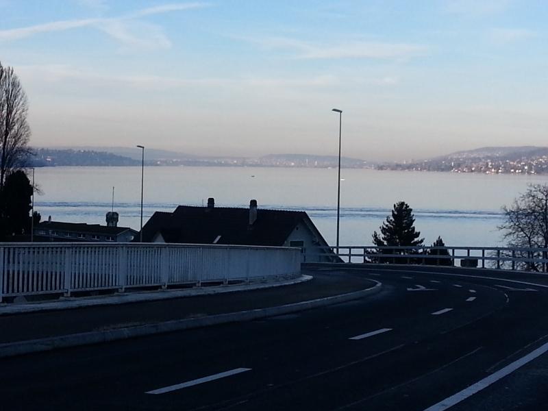 Zürich am Ende des Sees