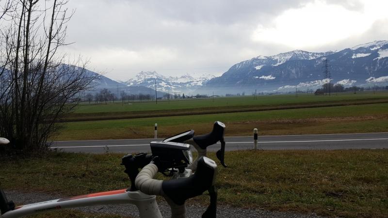 Blick in die Glarner Alpen