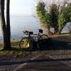 Am Zürichsee, zum vernebelten Gegenufer