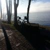 Am Zürichsee, in Fahrtrichtung