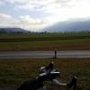 Blick zu den Glarner Alpen