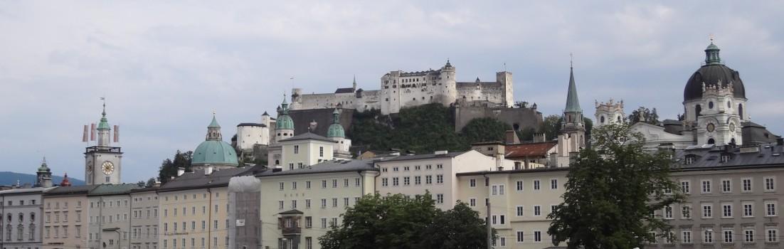 Kulisse von Salzburg