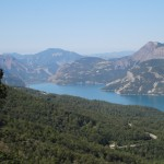 Panorama Lac de Serre Poncon linker Teil