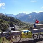 auf halber Höhe zum Col de Vars